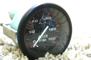 USED MOTORHOME AIR PSI DASH GAUGE 62841 FOR SALE