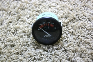 USED RV VOLTMETER GAUGE 57901 FOR SALE