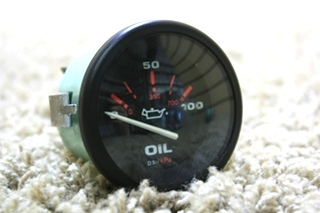 USED OIL PRESSURE 57929 RV DASH GAUGE FOR SALE