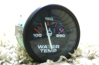 USED MOTORHOME WATER TEMPERATURE GAUGE 62843 FOR SALE