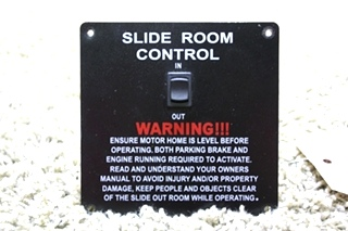USED RV SLIDE ROOM CONTROL SWITCH FOR SALE