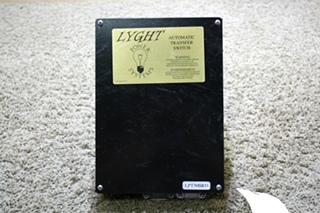 USED RV LYGHT POWER SYSTEM AUTOMATIC TRANSFER SWITCH LPT50-BRD FOR SALE