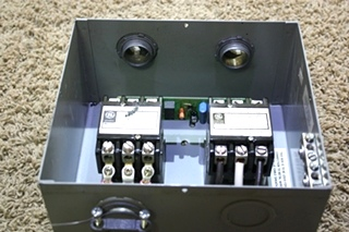 USED RV POWER 50 TRANSFER AUTOMATIC TRANSFER SWITCH ES50M-65N FOR SALE