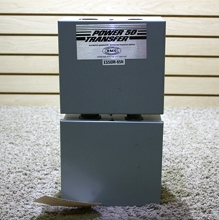 USED MOTORHOME POWER 50 TRANSFER AUTOMATIC GENERATOR - SHORELINE TRANSFER SWITCH FOR SALE
