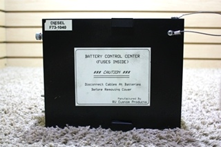 Battery Control Centers