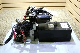 USED RV HWH HYDRAULIC PUMP/MOTOR/TANK  AP2260 FOR SALE