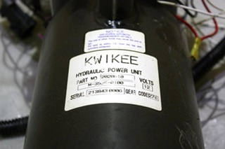 USED RV KWIKEE HYDRAULIC POWER UNIT 2020010 FOR SALE