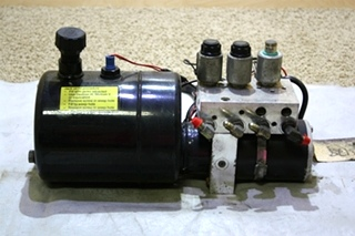 USED POWER GEAR HYDRAULIC PUMP 500825 RV PARTS FOR SALE