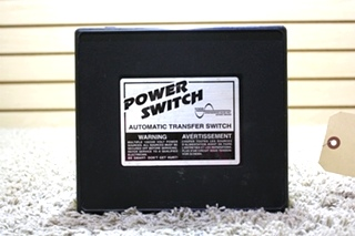 USED POWER SWITCH PS250 MOTORHOME AUTOMATIC TRANSFER SWITCH FOR SALE
