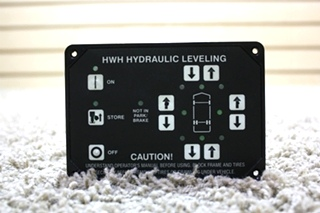 USED RV HWH HYDRAULIC LEVELING CONTROL TOUCH PAD AP10215 FOR SALE