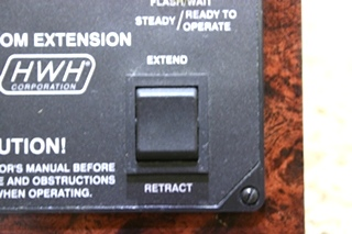 USED HWH ROOM EXTENSION CONTROL PANEL AP22475 MOTORHOME PARTS FOR SALE