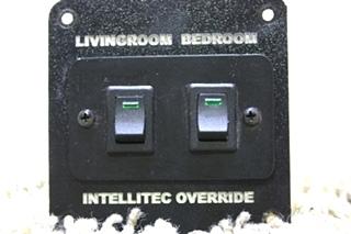 USED RV INTELLITEC OVERRIDE LIVINGROOM & BEDROOM SWITCHES FOR SALE