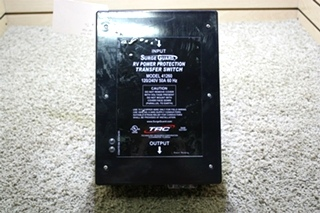 USED SURGE GUARD RV POWER PROTECTION TRANSFER SWITCH MODEL: 41260 FOR SALE