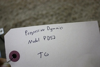 USED PROGRESSIVE DYNAMICS AUTOMATIC TRANSFER RELAY SWITCH PD52 FOR SALE