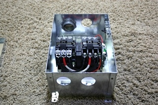 USED RV PROGRESSIVE DYNAMICS MODEL PD52 AUTOMATIC TRANSFER RELAY SWITCH FOR SALE