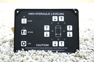 *SOLD OUT* USED RV HWH HYDRAULIC LEVELING TOUCH PAD AP28275 FOR SALE