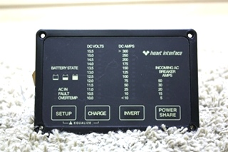 USED RV HEART INTERFACE 84-2056-03 REMOTE FOR SALE