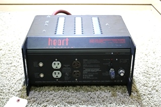 USED RV HEART INTERFACE ULTRA-HIGH PERFORMACE POWER INVERTER HF12-2000SU FOR SALE
