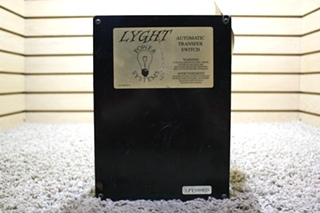 USED RV LYGHT POWER SYSTEMS AUTOMATIC TRANSFER SWITCH LPT50BRD FOR SALE