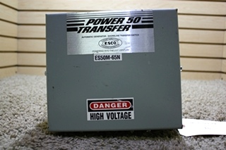 USED POWER 50 TRANSFER ES50M-65N MOTORHOME AUTOMATIC