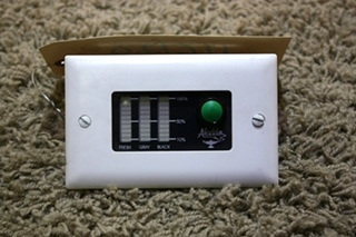 USED RV ALADDIN TANK MONITOR PANEL FOR SALE