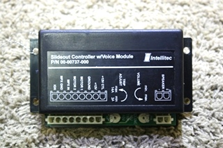 USED INTELLITEC SLIDE-OUT CONTROLLER WITH VOICE MODULE 00-00737-000 MOTORHOME PARTS FOR SALE