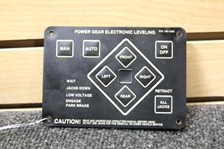 USED POWER GEAR ELECTRONIC LEVELING CONTROLLER PN: 140-1226