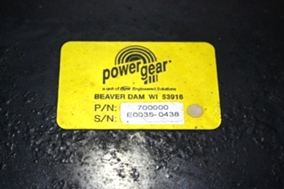 USED RV POWER GEAR 700000 BATTERY CONTROL CENTER FOR SALE