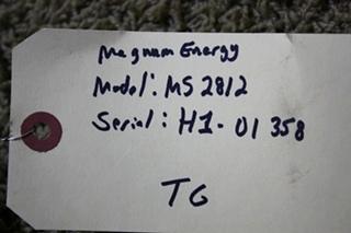 USED RV MAGNA SINE MAGNUM ENERGY MS2812 INVERTER CHARGER FOR SALE