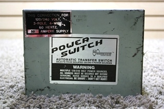 USED RV POWER SWITCH AUTOMATIC TRANSFER SWITCH PS-250 FOR SALE