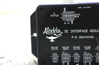 USED MOTORHOME ALADDIN DC INTERFACE MODULE 38040036 FOR SALE