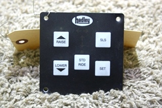 USED RV HADLEY LEVELING CONTROL TOUCH PAD FOR SALE