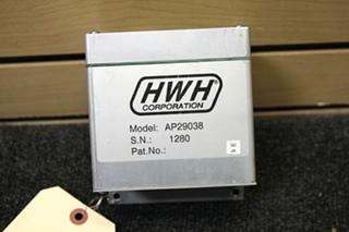 USED RV/MOTORHOME HWH CONTROL BOX PN: AP29038 SN: 1280