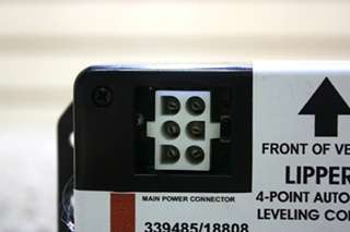 USED RV LIPPERT 4-POINT AUTOMATIC LEVELING CONTROL 339485/18808 FOR SALE