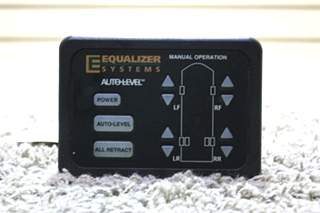 USED EQUALIZER SYSTEMS AUTO LEVEL TOUCH PAD M894-02 RV PARTS