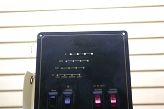 USED RV TANK MONITOR & SWITCH PANEL FOR SALE