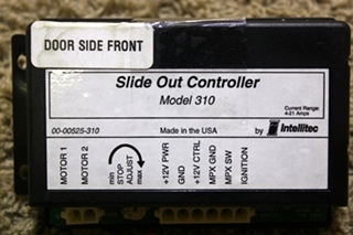USED RV MODEL 310 SLIDE OUT CONTROLLER BY INTELLITEC 00-00525-310 FOR SALE