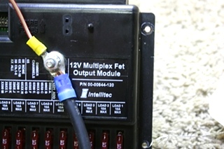 USED MOTORHOME INTELLITEC 12V MULTIPLEX FET OUTPUT MODULE 00-00844-120 FOR SALE