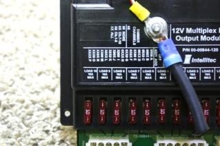 USED MOTORHOME INTELLITEC 12V MULTIPLEX FET OUTPUT MODULE 00-00844-120 FOR SALE