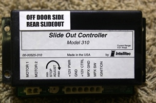 USED INTELLITEC SLIDE OUT CONTROLLER MODEL 310 00-00525-310 RV PARTS FOR SALE