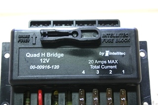 USED MOTORHOME 00-00916-120 QUAD H BRIDGE 12V BY INTELLITEC FOR SALE