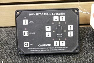 USED RV/MOTORHOME HWH HYDRAULIC LEVELING TOUCHPAD PN: AP29691