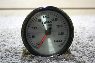 USED MOTORHOME TACHOMETER 945879-121002 DASH GAUGE FOR SALE