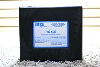 USED RV IOTA ENGINEERING ITS-50R AUTOMATIC TRANSFER SWITCH FOR SALE