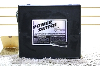 USED POWER SWITCH PS 250 MOTORHOME AUTOMATIC TRANSFER SWITCH FOR SALE