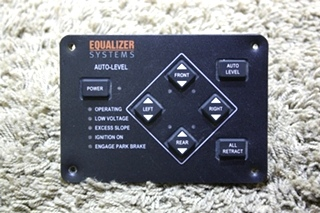 USED EQUALIZER SYSTEMS AUTO LEVEL M3103 LEVELING TOUCH PAD FOR SALE