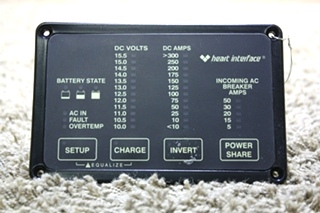 USED RV HEART INTERFACE HEART REMOTE 84-2056-03 FOR SALE