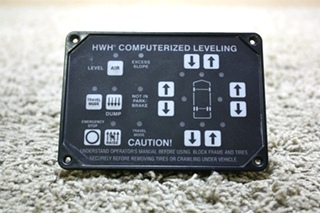 USED HWH COMPUTERIZED LEVELING CONTROL TOUCH PAD AP24249 RV PARTS FOR SALE