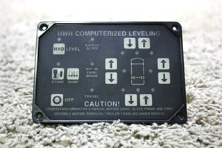 USED MOTORHOME HWH COMPUTERIZED LEVELING AP1088 TOUCH PAD FOR SALE