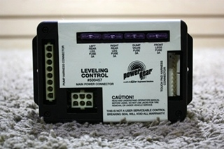 USED POWER GEAR LEVELING CONTROL BOARD 500457 MOTORHOME PARTS FOR SALE